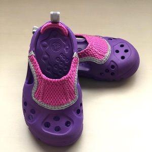 Crocs Kids (toddler) shoes.